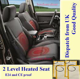 Pair Of Carbon Fibre Element Heated Seat Retrofit Kit for One Seat Two Level