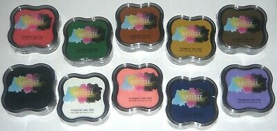 One Docrafts artiste pigment ink stamp pad acid free Choose from 11 colours