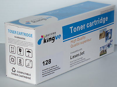 1PK  Compatible Black Toner for Canon 128 fits MF4412 4420 4550 4570 4580