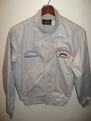 Unocal Oil Movement 1989 Pipeline Western Scada Project Vintage Pla Jac Jacket L