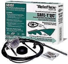 New Teleflex Safe-T Quick Connect Boat Steering System 13 Ft. Ss13713