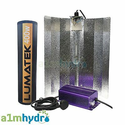 Lumatek 400W Complete Euro Grow Light Kit Digital Dimmable Ballast Hydroponics