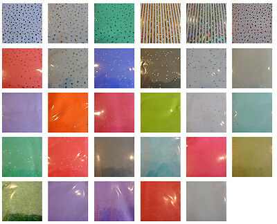 SPARKLY Glittery Tissue Wrapping Paper 3 or 5 sheets 30 designs free post