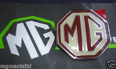 MG ZR, ZS, ZT, ZT-T Front Grille Badge Genuine MGRover mgmanialtd.com