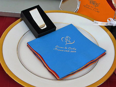 150 Personalized Luncheon Napkins Wedding favors custom printed graduation party