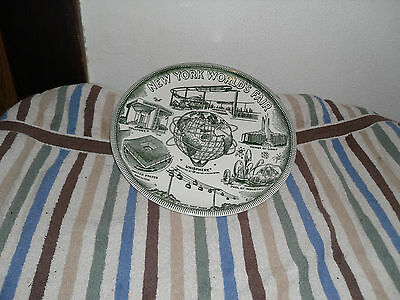 1964/ 1965 New York Collectable World's Fair Plate. Excellent Condition