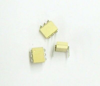 MOC8111 - Optocoupler, Phototransistor Output - (Lot of 10) - 6 Pin DIP Motorola