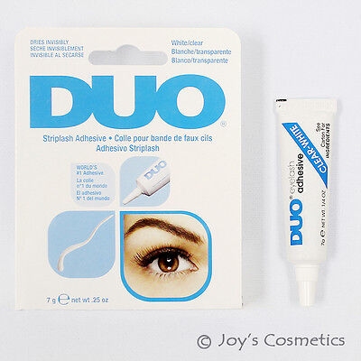 "1 DUO Waterproof Eyelash Adhesive (glue) - ""7g White / Clear""  *Joy's cosmetics*"