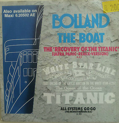 "7"" 1985 KULT ! BOLLAND : The Boat // MINT- \"