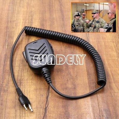 Hand held Shoulder Mic wih Speaker For Alan/Midland CB UHF Radio Walkie Talkie