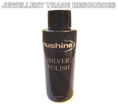 Nushine Silver Polish Cleaner Clean & Protect Tarnish From Silver & Silver Plate