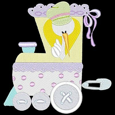 Baby New Year - 33 Machine Embroidery Designs (Azeb)