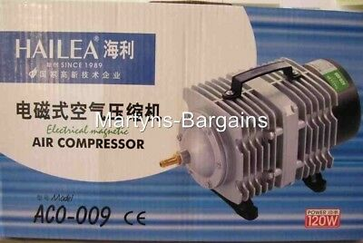 Air Compressor. Hailea Electrical Magnetic. ACO-009. Hyrdroponic Air Compressor.