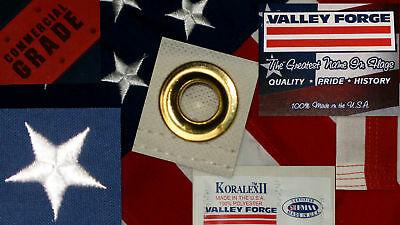 Commercial Grade- Valley Forge American Flag 4'x6' sewn Koralex II™ made in USA