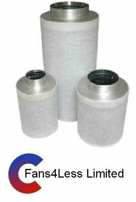 """Hydropoinc Grow Room Activated Carbon Filter 4"""" 100mm,  5"""" 125mm,  6"""" 150mm"""