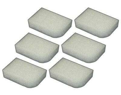 6 Water Filter Polishing Pads for Fluval 304/305/306/404/405/406 Filters