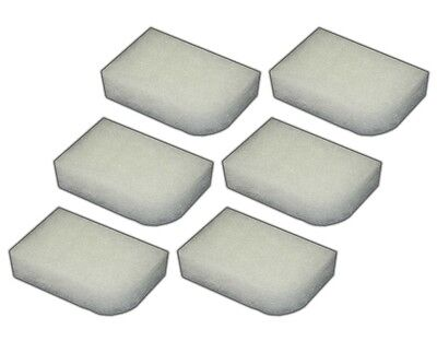 12 Water Filter Polishing Pads for Fluval 304/305/306/404/405/406 Filters