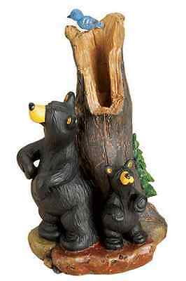 Big Sky Carvers Bearfoots Bear Back Scratching Figurine Jeff Fleming