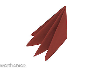 2000 Red Napkins 40cm 2ply Serviettes Tableware Dinning Catering Restaurant Xmas