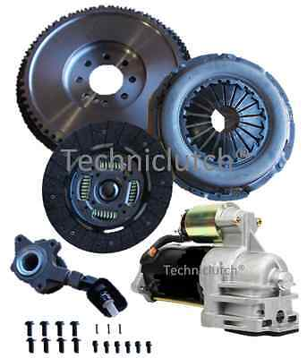 Ford Mondeo Tdci 6 Speed Dmf Replacement Flywheel, Starter And Clutch With Csc