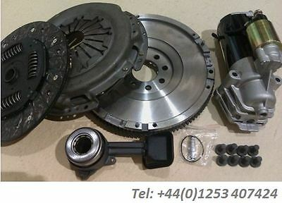 Jaguar X Type 2.2 D 2.2D Dmf Flywheel Replacement And Starter, Clutch With Csc