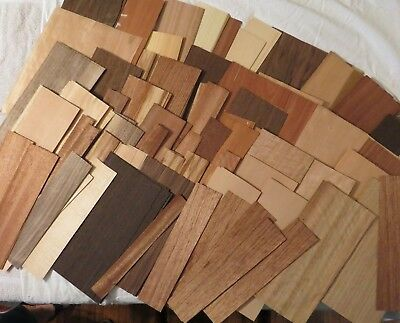 Large Lot Of Exotic & Common Wood Veneer Various Types