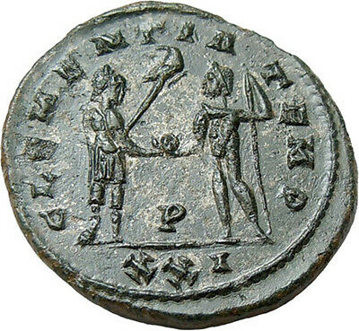 Probus AE Antoninianus Authentic Ancient Roman Bronze Coin