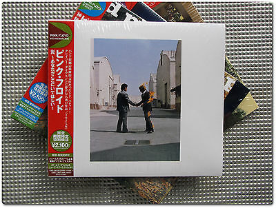 Pink Floyd ,  Wish You Were Here  ( CD Paper Sleeve Ltd. Japan )