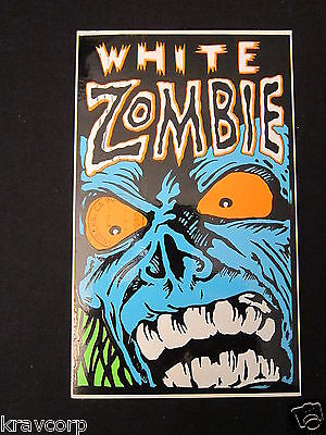 White Zombie—1993 Promotional Postcard/sticker