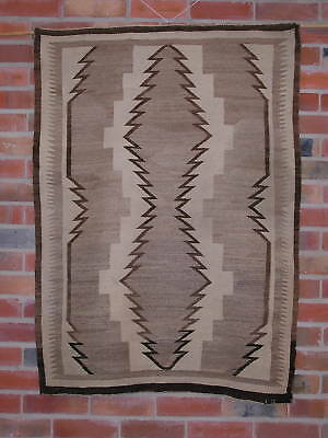 "Navajo Rug - Crystal ~33 by 47"" - Late 19th/Early 20th Century Excellent Quality"