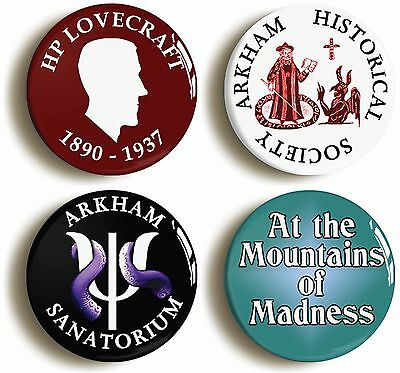 CALL OF CTHULHU HORROR HP LOVECRAFT SIGNATURE BADGE BUTTON PIN 1inch//25mm