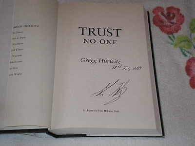 Trust No One by Gregg Hurwitz    **SIGNED**
