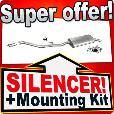VAUXHALL VECTRA A HATCHBACK 1.4 1.6 1.8 1988-1992 Silencer Exhaust System