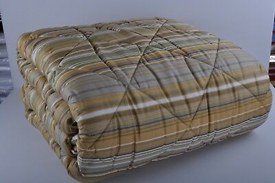 winter double quilt TRAPUNTA BORBONESE SOMMA MATRIMONIALE  RIGHE  260X260