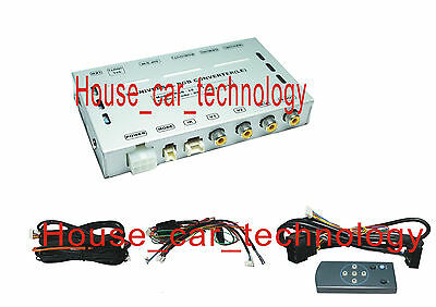 Video Multimedia Interface for 2009~ HONDA/ACURA NAVIGATION SYSTEM to add TV,DVD