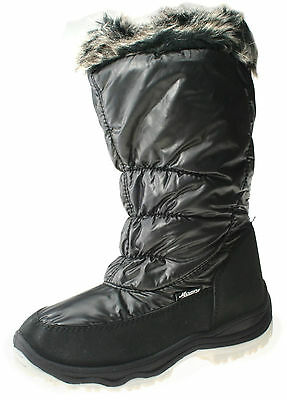 Womens Winter Warm Fur Lined Yetti Snow Ski Style Moon Fashion Boots Size 3-8 UK