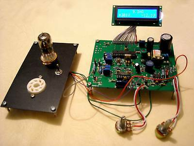 Vacuum Tube Tester With Lcd Display - Lampemetre Ultra Compact