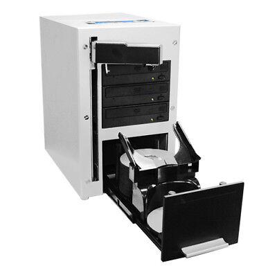 The Cube 3 Target Automated Robotic DVD CD Duplicator 60 Disc Capacity 320GB HDD