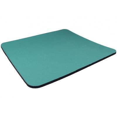 Mouse Mat GREEN Fabric 5mm Thick Pad Black Blue Grey Red Yellow Pink * 3 FOR 2