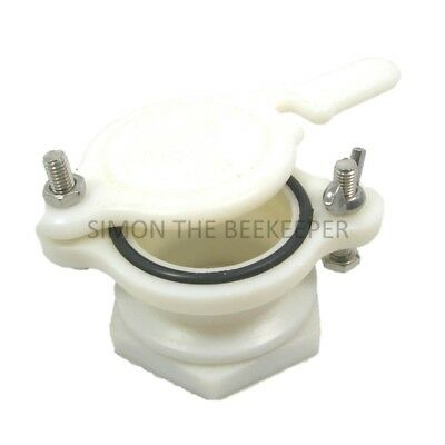 [UK] Beekeeping Honey Gate Valves: 2 Pcs