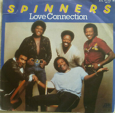 "7"" 1981 KULT ! SPINNERS : Love Connection /MINT-"
