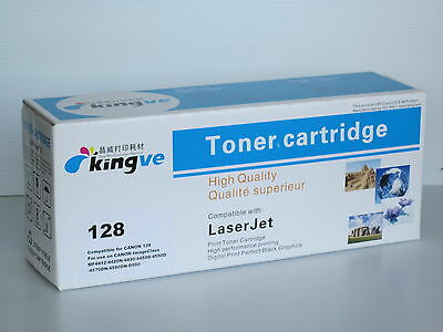 1PK Compatible Black Toner for Canon 128 fits Canon MF 4420 4550 4570 4580 D550