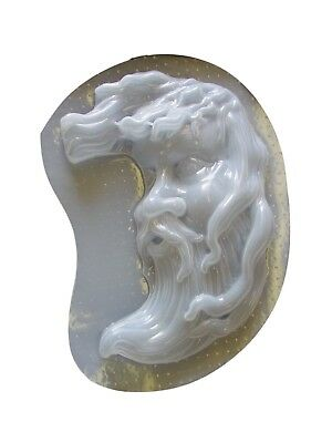 Greenman Face Concrete Plaster Cement Stepping Stone Plaque Mold 7114