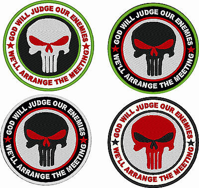 Toppa Patch Velcro Seal Punisher Softair Militare Militaria