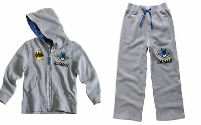 Boys Official Marvel Batman Tracksuit Jogging Suit Hoody 7-8 Labelled 8 Years