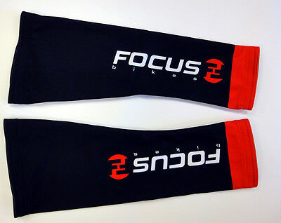 Team Focus Cycling Knee Warmers by GSG. Made in Italy