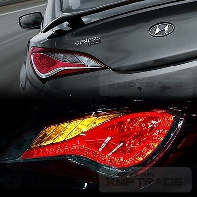 Genuine Parts LED Rear Tail Light Lamp L+R for HYUNDAI 2009 - 2017 Genesis Coupe