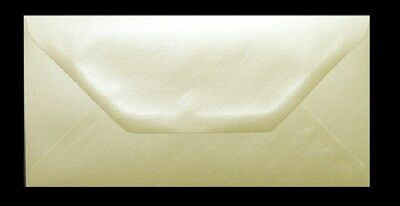 Champagne Pearlescent DL Envelopes 110x220mm 100gsm Wedding Invitations & Cards