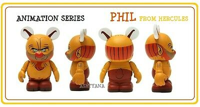 NEW DISNEY 3 VINYLMATION ANIMATION 1 PHIL CARD ONLY