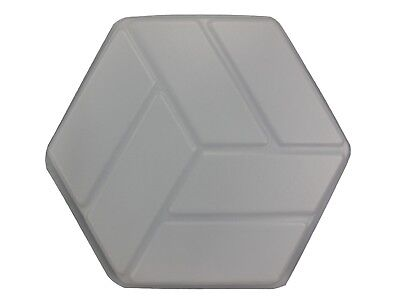 Brick Hexagon 16 in Paver Concrete Cement Stepping Stone Mold 2004 Moldcreations